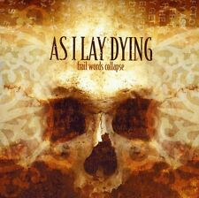 As I Lay Dying - Frail Words Collapse [New CD]