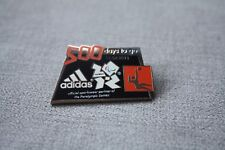 Adidas London Olympic 2012 Badge Pin Limited Edition Rare 500 Days Paralympic