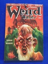 WEIRD TALES. SEPTEMBER, 1948 - FIRST EDITION SIGNED BY CONTRIBUTOR RAY BRADBURY