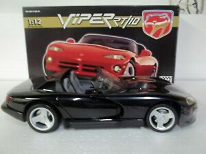 Anson 30318 Dodge Viper RT/10 Black 1/12 Mint & Boxed (Rare)