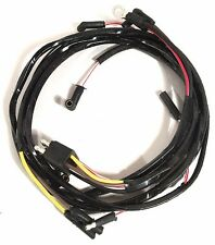 1965 Ford Mustang Gauge Feed Wiring Harness - w/ 289ci, w/Alt, Gauges, 3spd Heat