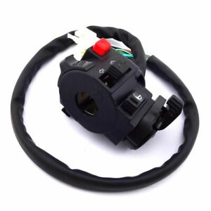Switch Assembly With Choke Lever 12 Wire 5 Function For Chinese ATV 110cc-250cc