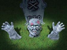 Zombie Ground Breaker Outdoor Decoration Halloween Party Undead Rising Prop
