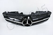 Genuine Front Center Central Grille Mercedes SL-Class R230 Facelift 09-12