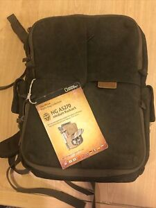 National Geographic Medium Rucksack For DSLR, acc.,laptop(NG A5270) New with tag