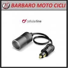 Adapter for Mini Connector Motorcycle 12 V Cellularline