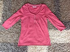 Lovely deep pink size 12 3/4 sleeve top from white stuff in excellent condition