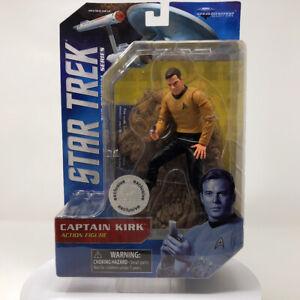 Star Trek Original Series CAPTAIN KIRK Figure Diamond Select Collectible New