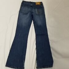 Baby Phat womens jeans size 7 juniors flare distressed