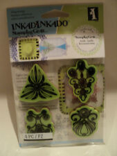 INKADINKADO STAMPING GEAR CLING STAMPS - JEWELRY BNIP *LOOK*