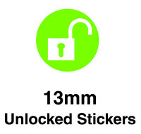 Stickers For Labelling Network Unlocked Mobile Phones - Removable Adhesive