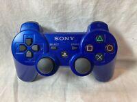 Genuine OEM Sony PlayStation 3 PS3 Sixaxis Dual Shock 3 Controller Blue CECHZC2U