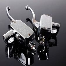 Frenos y componenentes de frenos sin marca color principal cromo para motos
