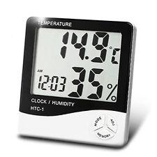 LCD Indoor/Outdoor Thermometer Hygrometer Temperature Humidity Meter UK SELLER