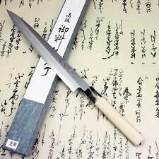 Japanese Tojiro Sushi Sashimi Yanagiba Knife Left Handed 240mm Shirogami Steel