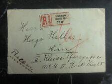 1921 Csurgo Hungary Registered Cover To Vienna Austria