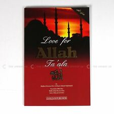 Love For Allah Ta'ala Ishq Ilahi Paperback Islamic Book 94 Pages A5 Size