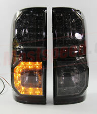 REAR LED SMOKE BLACK TAIL LIGHT LAMP TOYOTA HILUX VIGO SR5 05-11 CHAMP MK7 12-14