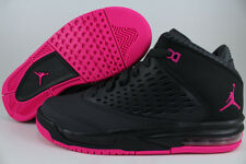 nike shoes for girls pink and black. nike air jordan flight origin 4 dark gray/deadly pink/black women girls youth nike shoes for girls pink and black
