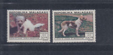 Malagassy 1974 Dogs Sc 512-513 complete mint never hinged