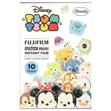 1 Pack 10 Photos Disney Tsum Tsum FujiFilm Fuji Instax Mini Film Polaroid SP-2