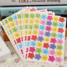 400pcs Colorful Smile Stars Decal School Kids Teacher Label Reward Sticker New