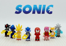 8pcs Sonic The Hedgehog Series 8 Minifigures Custom Set Fit Lego