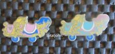 Disney DLR - 2011 Hidden Mickey Series - Casey Jr. Train Collection 2 Cars Pin