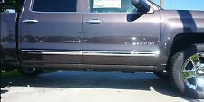 CHEVROLET SILVERADO/GMC SIERRA DOUBLE CAB 2014-2016 TFP CHROME BODYSIDE MOLDING