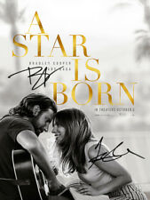 Bradley Cooper Lady Gaga SIGNED PHOTO A STAR IS BORN DUAL AUTOGRAPH Poster AUTO