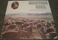 Wayne Richardson Masters Call~Private Press Christian Gospel Vinyl LP~FAST SHIP!