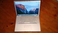 """MacBook Pro A1260 15.4"""" 2gb 200gb HDD El Capitan+MS Office 2011+GarageBand+IWork"""