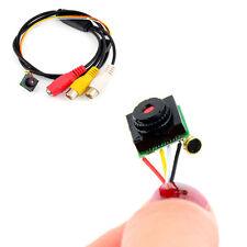 600TVL Mini CCTV Audio Wired Camera Security Micro Camera HD SPY Camera Hot UK