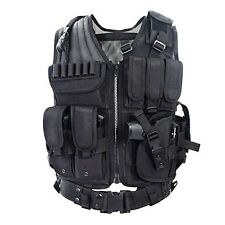 SWAT Vest Tactical Gear Pockets Durable Outdoor Vest Cs Game Army Fans Cosplay