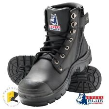 Steel Blue Argyle Zip Bump Cap Safety Boots 332152 - Limited Stock - Clearance