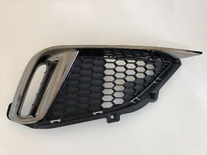 New Original Right Passenger Side Mesh Grille & Chrome Molding Genesis G80 SPORT