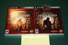 Dante's Inferno Divine Edition (Playstation 3 PS3) NEW SEALED NEAR-MINT, RARE!
