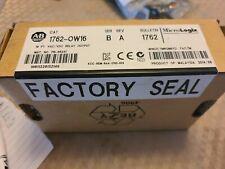Allen Bradley1762 16 Pt Vacvdc Relay Output Unopened Factory Sealed