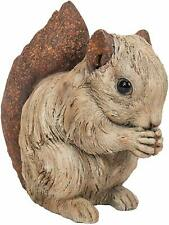 Vivid Arts - Wood Life -Small Sitting Squirrel - Garden Ornament Decoration Gift