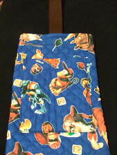 Donkey Kong Handmade Pouch bag case Nintendo quilted