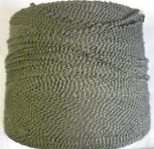ACRYLIC POLY BOUCLE MEREDIAN 800 YPP WORSTED CONE YARN 1 LB MOSS GREEN  (A81)