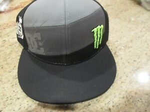 MONSTER ENERGY DC HAT STYLE 20348133 COARBON SNAPBACK NEW WITH TAGS