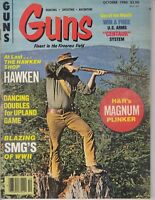 Guns Magazine October 1980 - Magnum Plinker , WWII SMG's and more / t4