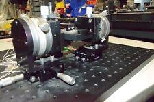 Newport 460a Xyz Translation Stage Amp Newport 3 Inch Rotary Amp Opto Sigma Tilt