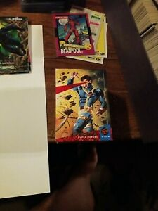 1994 Fleer Ultra Marvel X-Men Trading Cards 145 of the 150 plus some extra