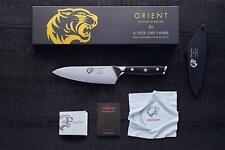 6 inch Japanese Steel Damascus Chef Knife by Orient - Gift Box & Blade Cover