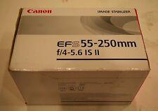 canon ef-s 55-250mm f/4-5.6 ii objektiv!!! guter zustand & kostenloser versand!!!