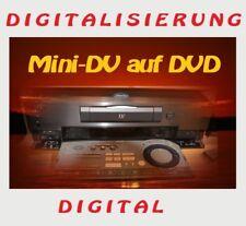1 Mini DV Kassetten auf DVD digitalisieren, überspielen, MiniDV kopieren