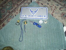 US Air Force Collectors Lot Of 6 Items Mcchord Tokens Wartech Knife Bolo Tag ++