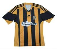 Hull City 2013-14 Authentic Home Shirt (Excellent) M Soccer Jersey